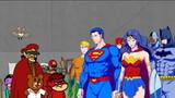 DC Super Heroes vs Taka no Tsume Dan Promotion Eizou